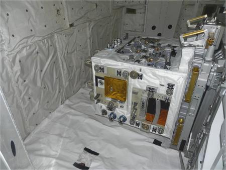 Az RRM az Atlantis rakterében (Fotó: NASA)