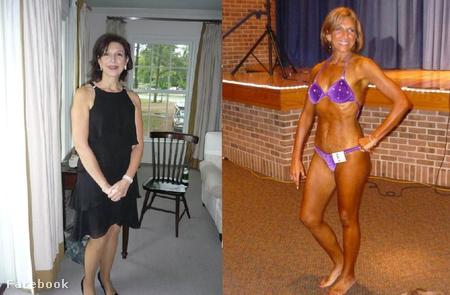Debra Berney a mindennapokban és a testépítőversenyen