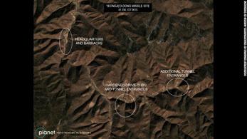 Műholdas felvételek bizonyítják, hogy Észak-Korea bővíti atomfegyvereit