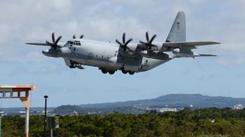 Valami történt az amerikai tengerészgyalogság két repülőgépével
