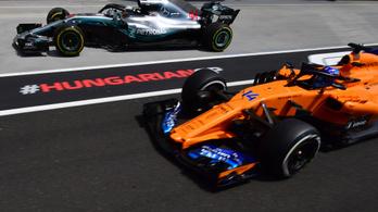 F1: megszűnik a taktikai libasor