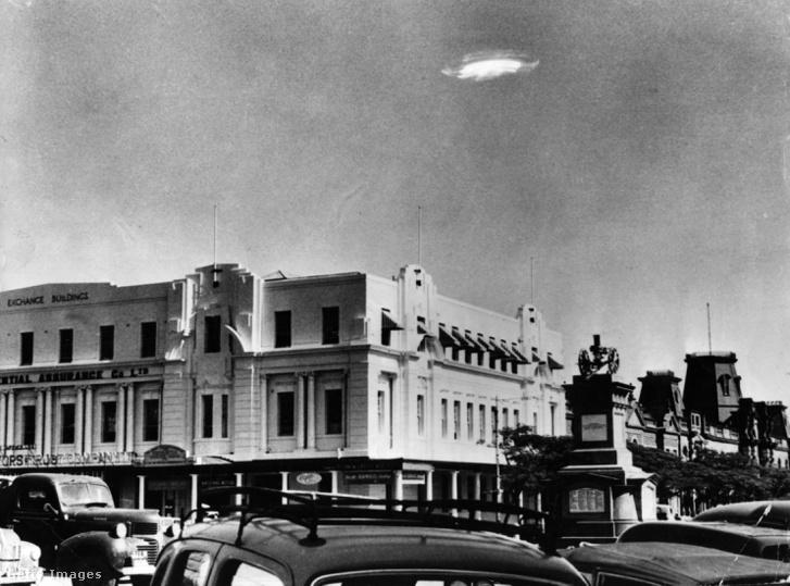 Azonosítatlan repülő objektum (UFO), Bulawayo feletti égen 1935. december 29-én, Dél-Rodéziában