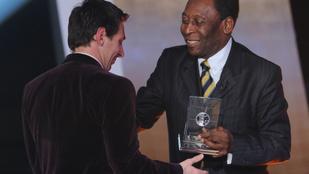 Pelé: Hogy lehetne a világ legjobbja az, aki nem tud fejelni?