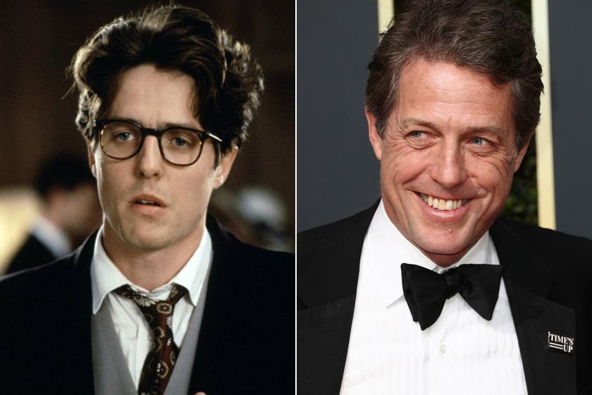 Hugh Grantnek 25 év elteltével is fut a szekere: az 58 éves sztár olyan filmekben szerepelt az elmúlt években, mint a Florence - A tökéletlen hang, a Felhőatlasz vagy Az U.N.C.L.E embere. Ráadásul nőcsábászból vérbeli apuka lett, idén az ötödik gyermeke is megszületett.