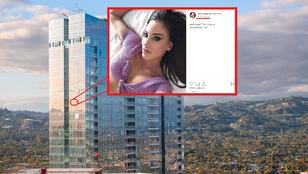 Vajna Tímea amerikai lakhelye: 2,5-17 millió forint a lakbér, és ott edz Kourtney Kardashian