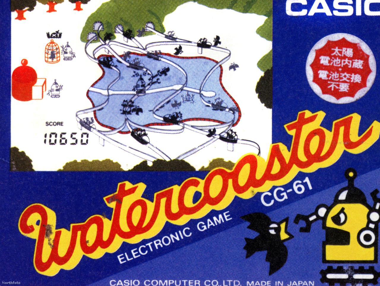 Watercoaster kvarcjáték (CG-61), 1982-ből.