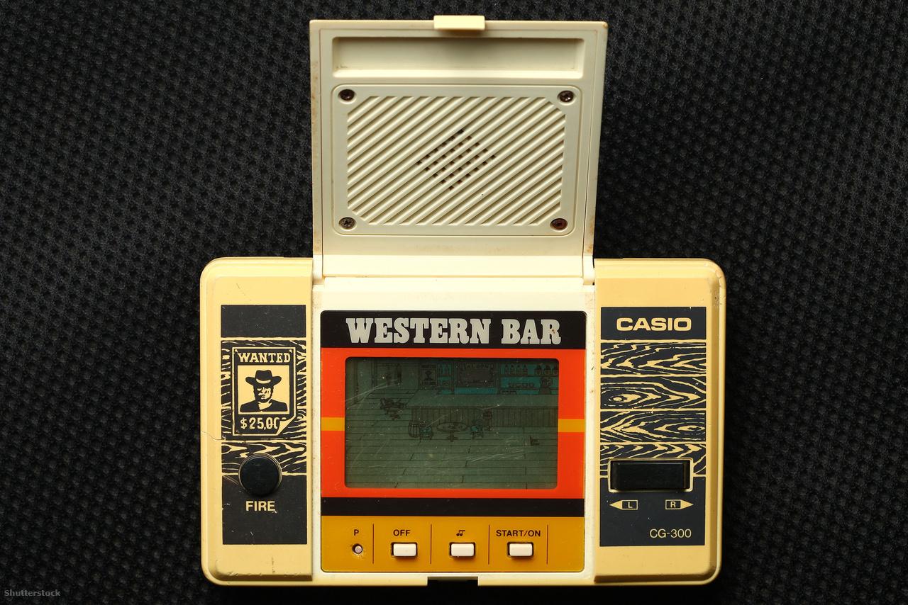 A legendás Western Bar kvarcjáték, 1984-ből, rengeteg gyerek szíve vágya.