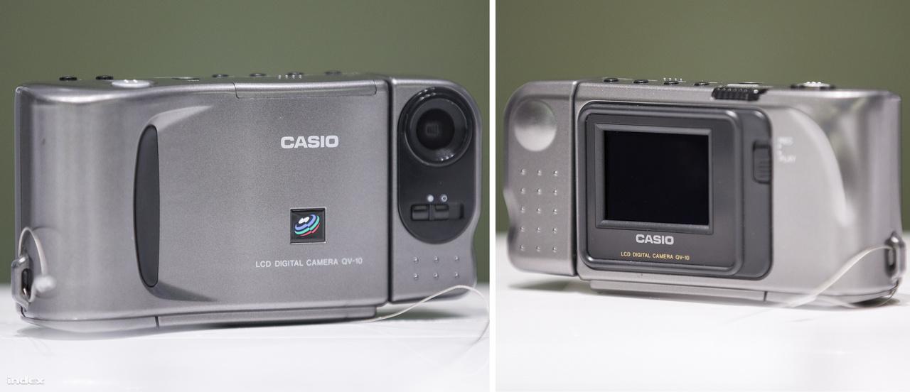 1994 novemberében mutatta be a Casio a QV-10, a világ első LCD kijelzővel felszerelt digitális fényképezőgépét, amin a kép elkészülte után azonnal vissza is lehetett azt nézni. A digitális fényképezés igazi úttörője volt ez a kis kompakt kamera.