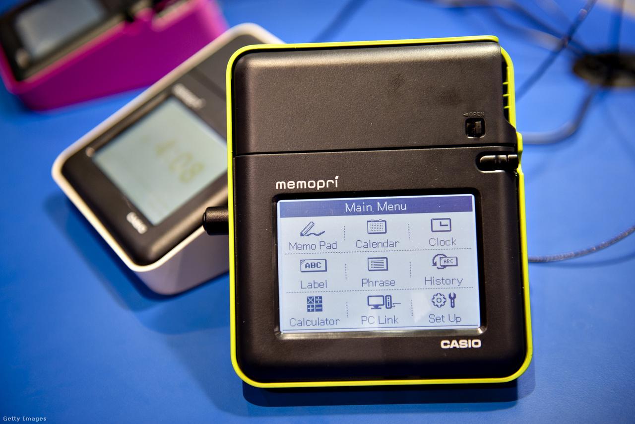A 2012-es CES-re kivitt egyik új Casio termék, a Memopri, egy főként irodai felhasználásra szánt érintőképernyős címkenyomtató.