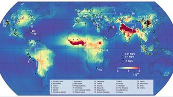Elkészült a világ állatszartérképe