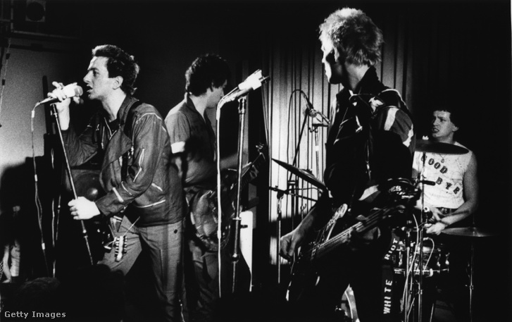 A The Clash koncertje Londonban 1977-ben