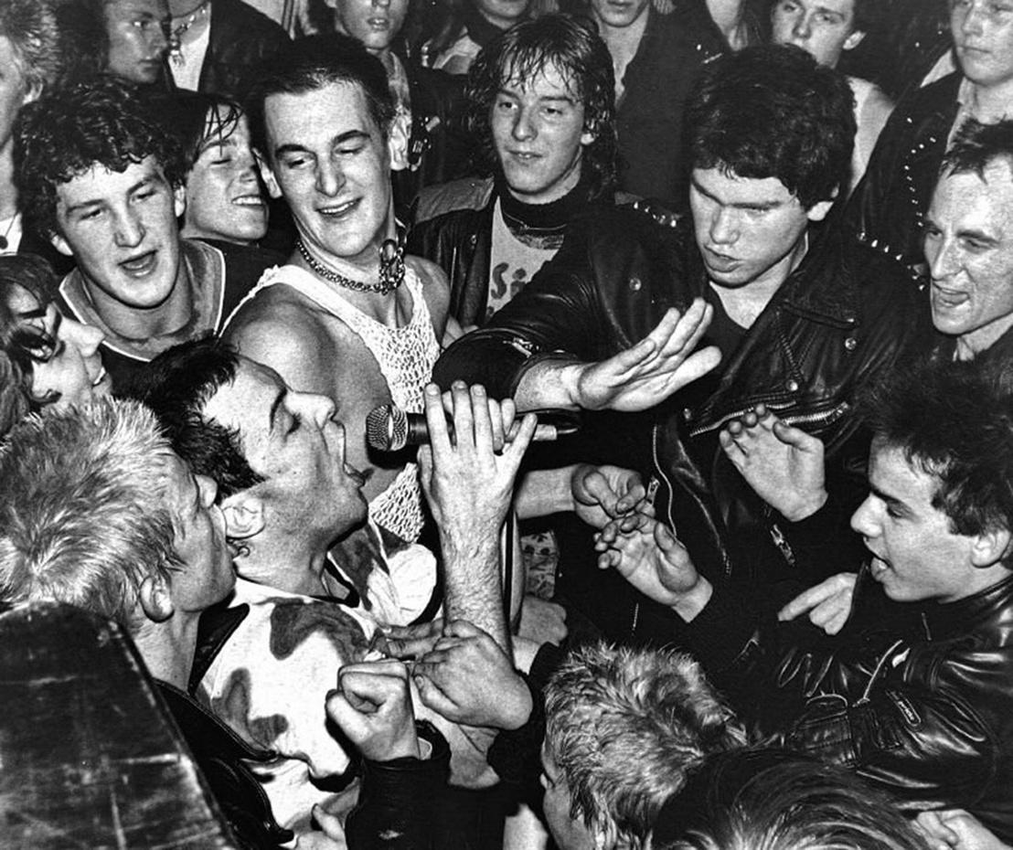 Dead Kennedys koncert valamikor a 80-as évek elején
