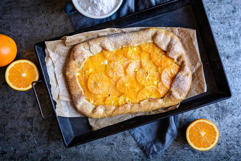 Omlós, illatos, narancsos galette: a hajtogatott pite jól bevált receptje