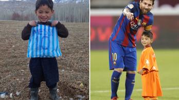 Messi nejlonzacskós hősét megfenyegették és elüldözték a tálibok