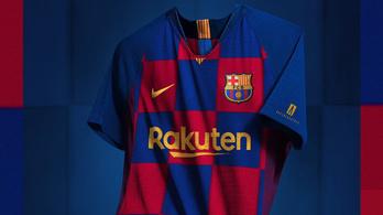 Újabb árulkodó jel, kockás lesz a Barcelona meze