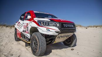 Megmutatták a következő Dakar-rali favoritját