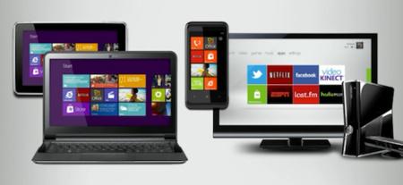 A Windows Phone 7-ben bevezetett Metro UI kezelőfelületre épül minden (forrás: This is my next)