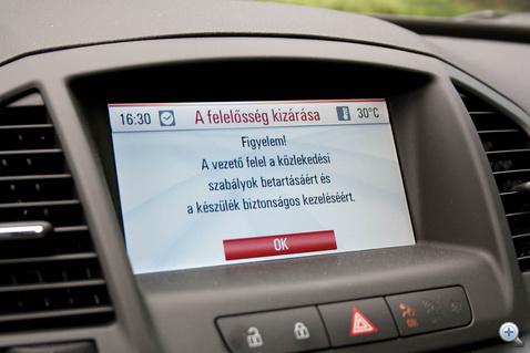 Figyelem! A vezető felel a közlekedési szabályok betartásáért és a készülék biztonságos kezeléséért
