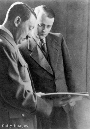 Hitler és Albert Speer