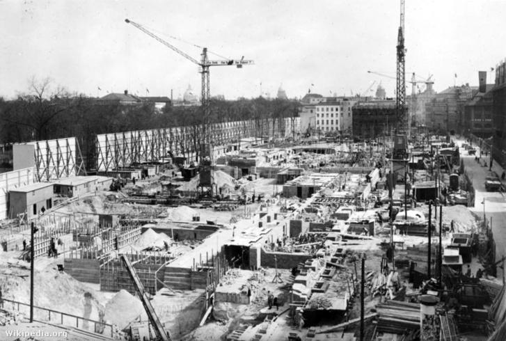 Építkezés 1938 tavaszán