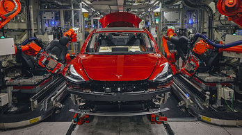 Jövőre már termel a Tesla kínai gyára