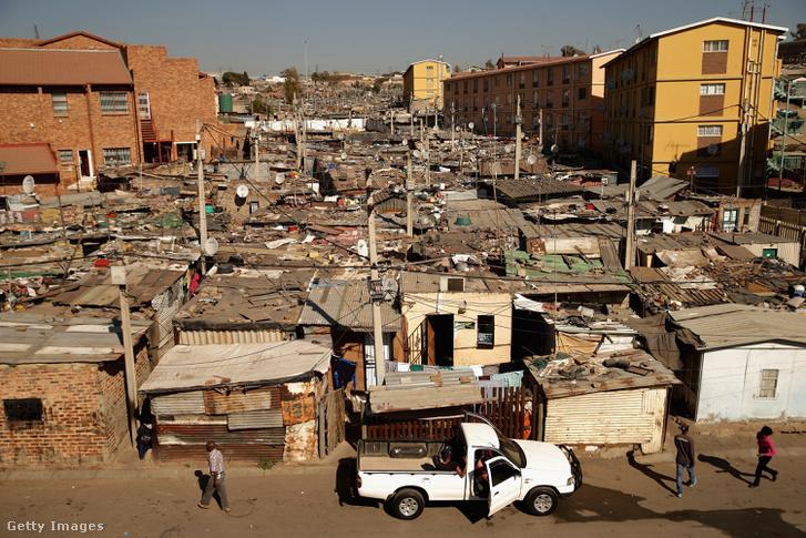 Alexandra település, Johannesburg-ban 2013. június 26-án