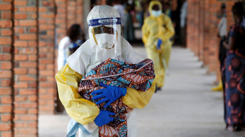 A történelem második legnagyobb ebolajárványa van Kongóban
