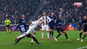 Mesteri csukafejessel verte a Juve az Intert