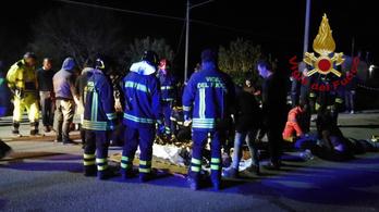 Halálos pánik tört ki egy olasz klubban