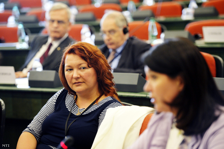 Bocskor Andrea, a Fidesz EP-képviselője