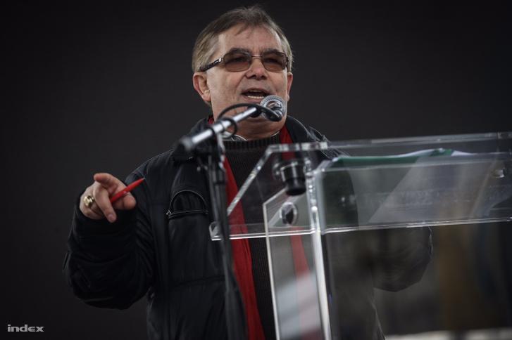 Dr. Szilágyi József, a LIGA Szakszervezetek társelnöke