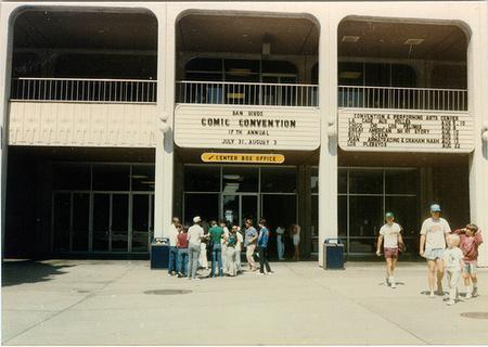A rendezvény bejárata 1982-ben.
