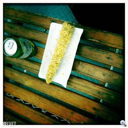 Főtt kukorica kötelező a Balatonon.