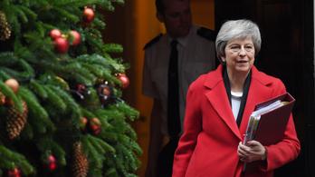Theresa May az utolsó pillanatban halaszthatja el a brexit-szavazást