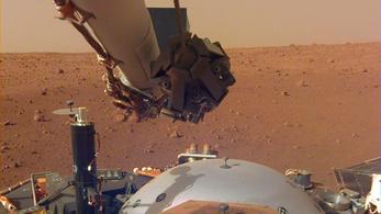 Ilyen a szél hangja a Marson