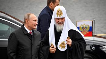 Orosz egyházfő: Gonosz emberek akarnak önálló ukrán egyházat