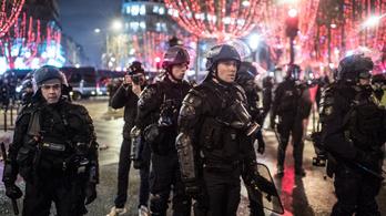 Ezer embert vettek őrizetbe Párizsban a zavargások miatt