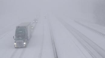 Hóvihar dúl több amerikai államban