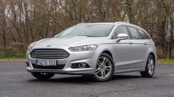 Használtteszt: Ford Mondeo 2,0 TDCi Titanium – 2015.