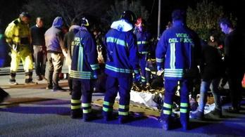 Egy 15 éves fiú miatt taposták halálra egymást az olasz klub vendégei