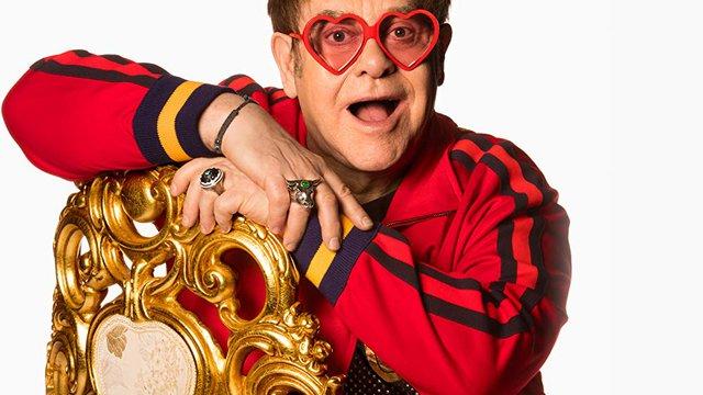 Bréking! Sosem látott kará-csonyi videó Elton Johntól!