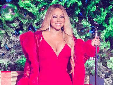 Mariah Carey ragaszkodik hozzá, hogy ez a karácsony is az ő dekoltázsáról szóljon