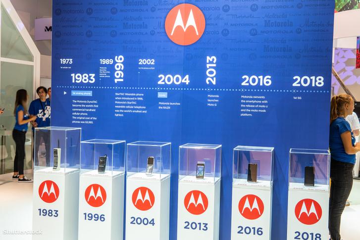 Motorola DynaTac, StarTac, Razr, Moto G, Moto Z, 5G telefonok 2018-ban.