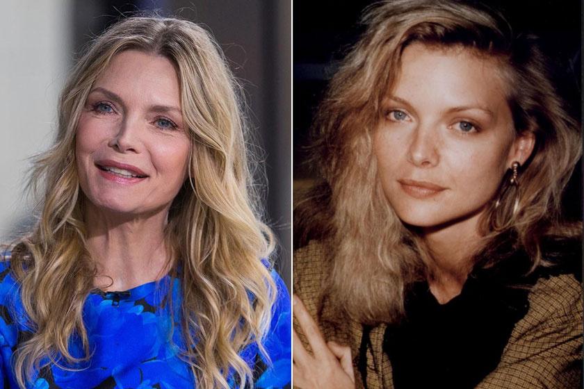 Michelle Pfeiffer egyre kevésbé hasonlít a régi énjéhez. Túlzásba vitte a plasztikai beavatkozásokat.