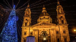 Így készül a karácsonyra Budapest