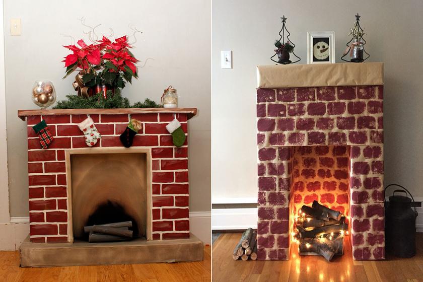Hangulatos kandalló, amit nem kell begyújtani: karácsonyi meghittséget hoz a lakásba
