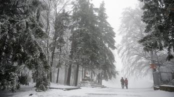 Kedden megérkezik a hó Magyarországra