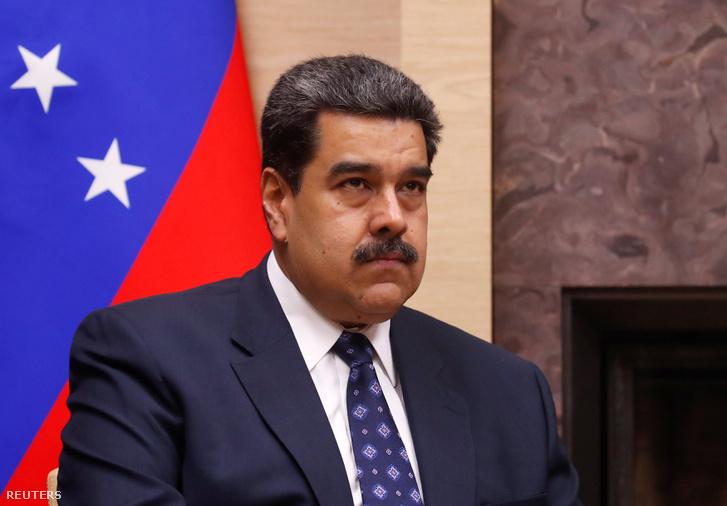 Nicolás Maduro 2018. december 5-én.
