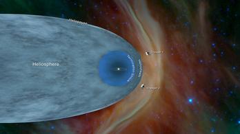 A Voyager 2 is elhagyta a Naprendszert