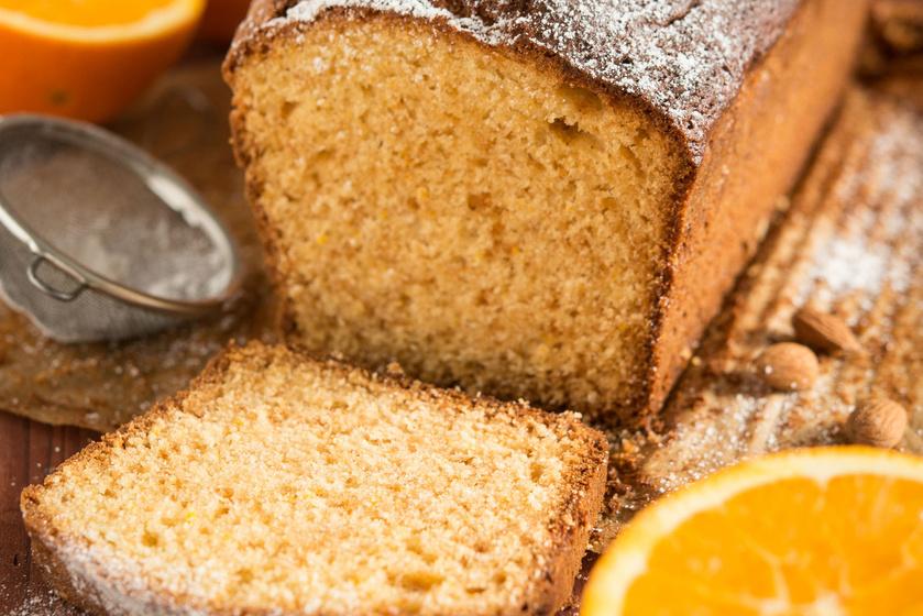 Omlós, narancsos-marcipános süti: amilyen egyszerű, olyan nagy sikere lesz